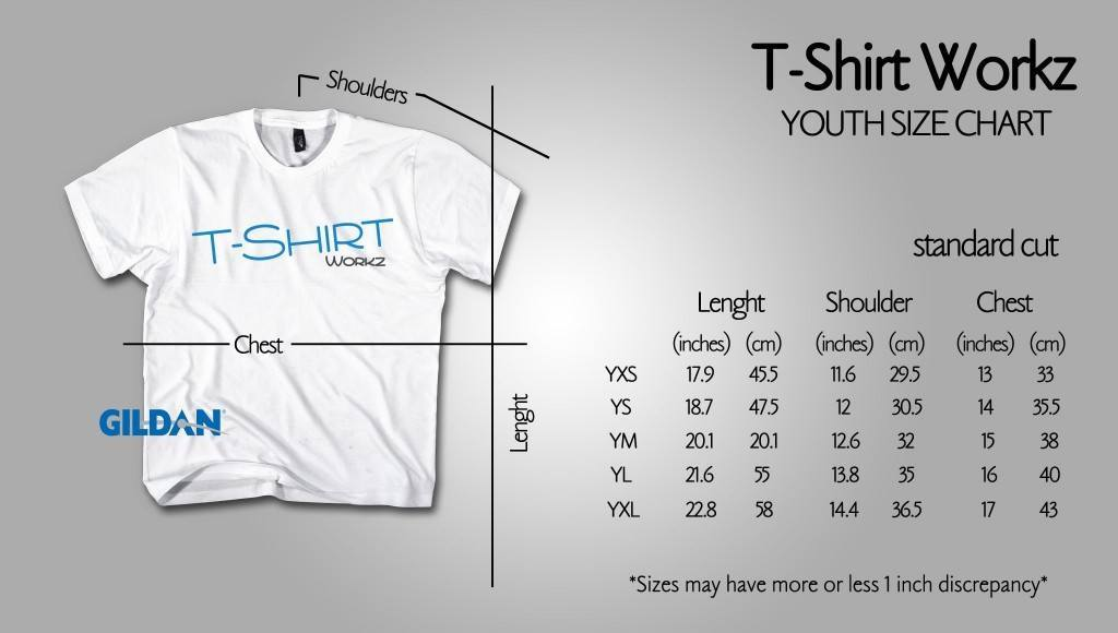 Standard Cut (Youth Size) Premium Cotton